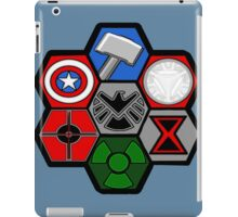 Avengers Assemble - Minimal Comic Hero Logo iPad Case/Skin