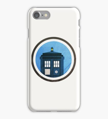 Doctor Who - Logo #5 iPhone Case/Skin
