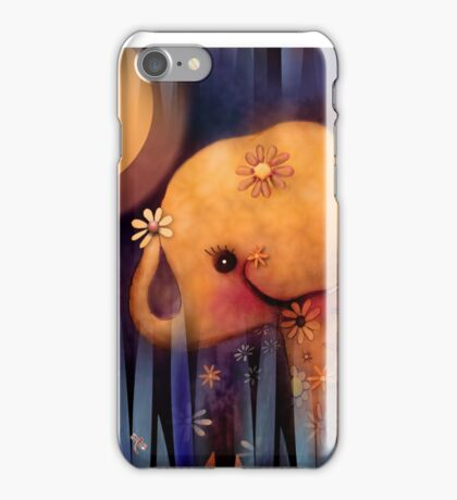 daisy's night garden iPhone Case/Skin
