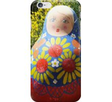 Giant Babushka doll iPhone Case/Skin