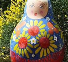 Giant Babushka doll by Martina Nicolls