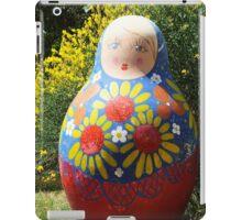Giant Babushka doll iPad Case/Skin