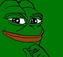 cheeky pepe by djbunny5