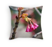Poppin in Pink Throw Pillow