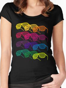 Glasses Women's Fitted Scoop T-Shirt