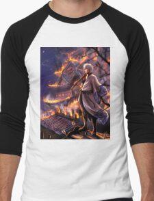 Gintama Castle Men's Baseball ¾ T-Shirt