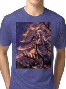 Gintama Castle Tri-blend T-Shirt