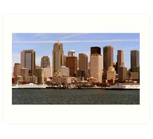Skyline Seattle Art Print