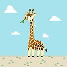Une Girafe by Dave Sliozis
