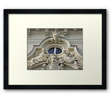 The Mermaid Window Framed Print
