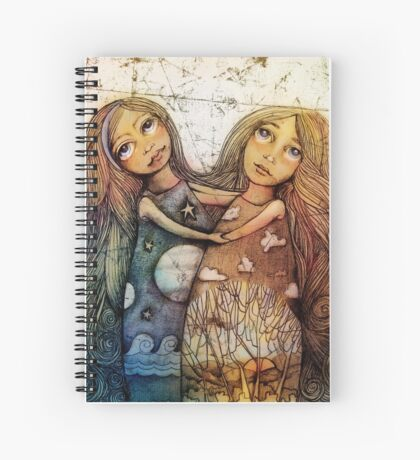 Night and Day Spiral Notebook
