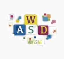 WASD Move me  Kids Tee