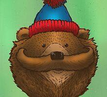 The Mustache Bear by nickv47