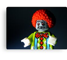 Lego Zombie Clown Canvas Print