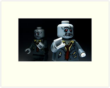 Lego Zombies by smokebelch