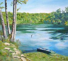 The Joy of Fishing by imokru3