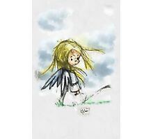 Angel of the Wind Photographic Print