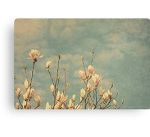 Pink Ribbon Canvas Print