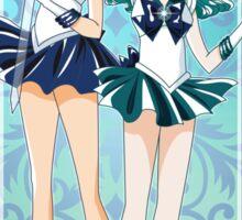 Sailor Uranus and Neptune  Sticker