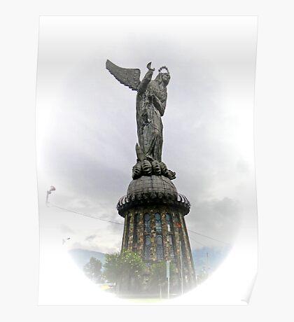 Virgen de El Panecillo IV, Quito Ecuador Poster