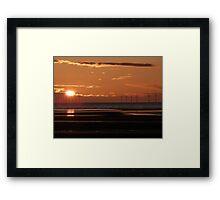 Renewable energy, everlasting light Framed Print