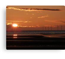 Renewable energy, everlasting light Canvas Print