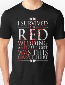 SURVIVED RED T-Shirt