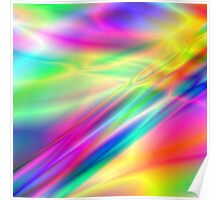 Psychedelic Lightnings Poster