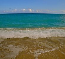The waves of the Sea bring me back to me! by Missy Lamb