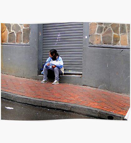Mother and Child, Quito, Ecuador Poster