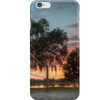 Volleyball By The Fire iPhone Case/Skin