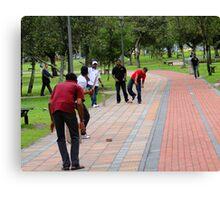 Cricket In Quito, Ecuador Canvas Print