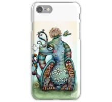 Misty the Friendly Rainbow Dragon iPhone Case/Skin
