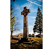 Graveyard Beauty  Photographic Print