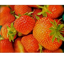 Sweet Strawberries Photographic Print