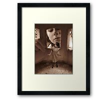 'Someone's watching me..' Framed Print