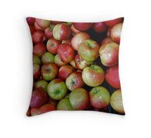 An apple a day! Throw Pillow