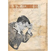 Salinger Photographic Print