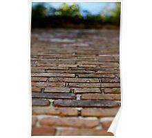 New Orleans Brickwork Poster