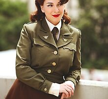 Tanya Wheelock as Peggy Carter (14.1 - Photography by Trent Thornton, with Additional Editing by Tascha Dearing) by mostdecentthing