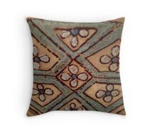 Tessellated tile Throw Pillow