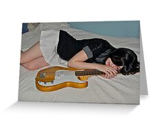 Dream of Music Greeting Card