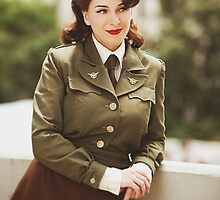 Tanya Wheelock as Peggy Carter (14.2 - Photography by Trent Thornton, with Additional Editing by Tascha Dearing) by mostdecentthing