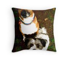 Boris & Juno  Throw Pillow