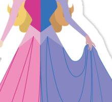Symmetrical Princesses: Sleeping Beauty Sticker