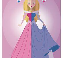 Symmetrical Princesses: Sleeping Beauty by Jennifer Mark