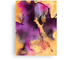 Ink #1 Canvas Print