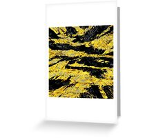abstract abnormality yb Greeting Card