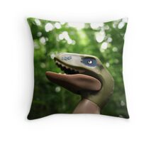#CleverGirl Throw Pillow