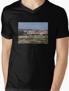 View from Upper Belvedere, Vienna Austria Mens V-Neck T-Shirt